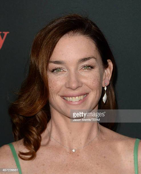 Actress Julianne Nicholson arrives at the premiere of The Weinstein Company's August Osage County at Regal Cinemas LA Live on December 16 2013 in Los...