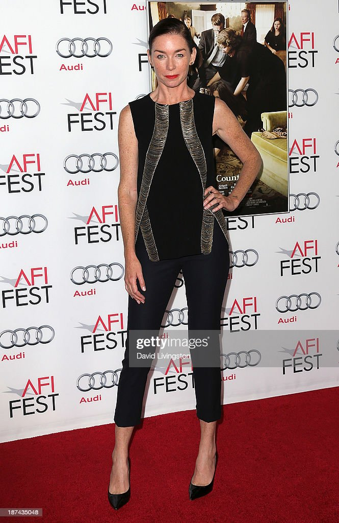Actress Julianne Nicholson attends the AFI FEST 2013 presented by Audi premiere of The Weinstein Company's 'August: Osage County' at the TCL Chinese Theatre on November 8, 2013 in Hollywood, California.