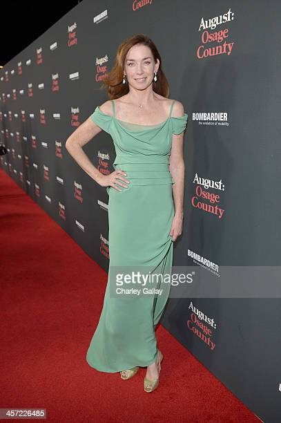 """Actress Julianne Nicholson attends the LA premiere Of """"August: Osage County"""" presented by The Weinstein Company in partnership with Bombardier at..."""
