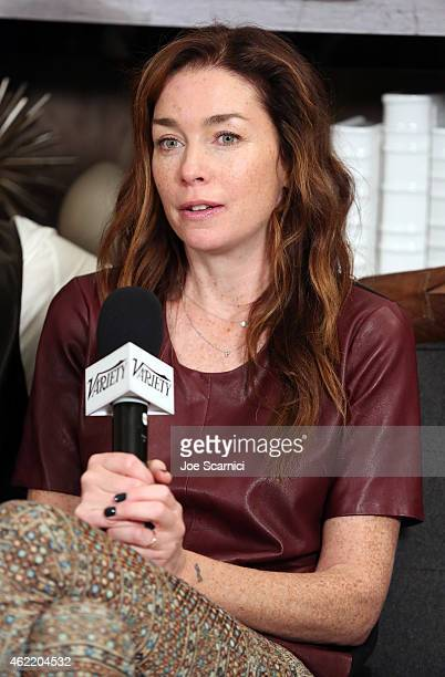 Actress Julianne Nicholson attends The Variety Studio At Sundance Presented By Dockers on January 25 2015 in Park City Utah