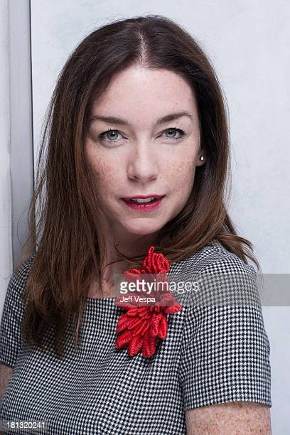 Actress Julianne Nicholson is photographed at the Toronto Film Festival on September 10 2013 in Toronto Ontario