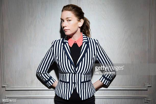Actress Julianne Nicholson is photographed for Los Angeles Times on November 19 2015 in Los Angeles California PUBLISHED IMAGE CREDIT MUST READ Jay L...