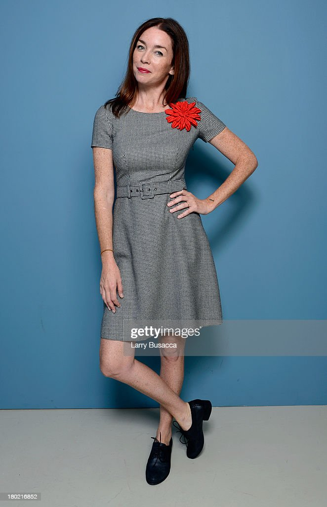 Actress Julianne Nicholson of 'August: Osage County' poses at the Guess Portrait Studio during 2013 Toronto International Film Festival on September 10, 2013 in Toronto, Canada.