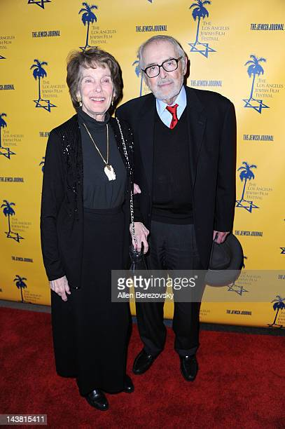 Actress Julie Adams and guest attend the Tony Curtis Driven To Stardom opening night premiere during the 7th Annual Los Angeles Jewish Film Festival...