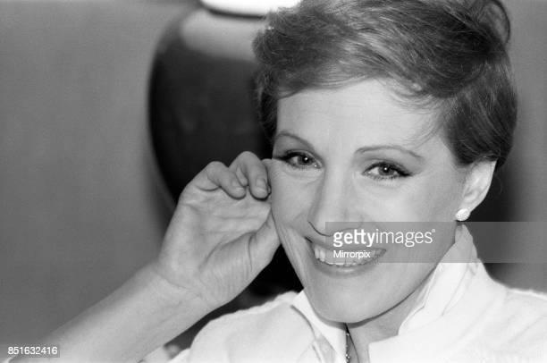 Actress Julie Andrews 15th June 1981