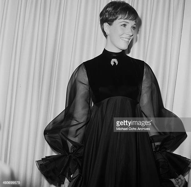 Actress Julie Andrews attends a party in Los Angeles California