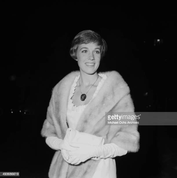 Actress Julie Andrews attends a premiere in Los Angeles California