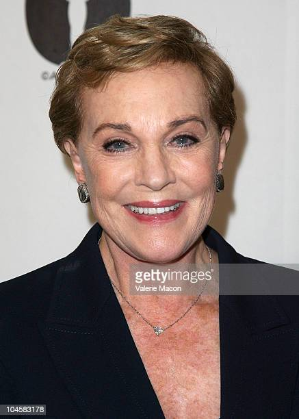 Actress Julie Andrews attends Academy Of Motion Picture Arts And Sciences' Evening With Blake Edwards on September 30 2010 in Beverly Hills California