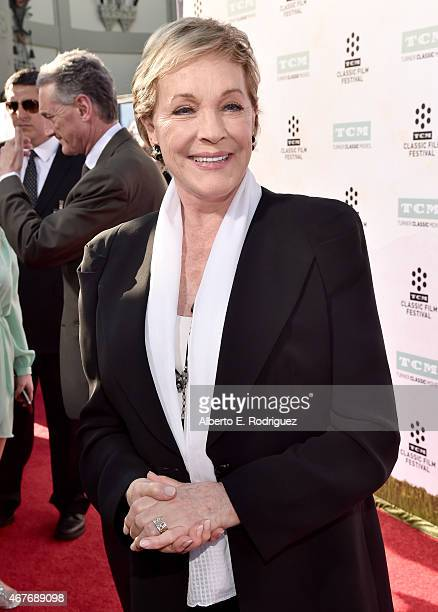 Actress Julie Andrews attends the Opening Night Gala and screening of The Sound of Music during the 2015 TCM Classic Film Festival on March 26 2015...