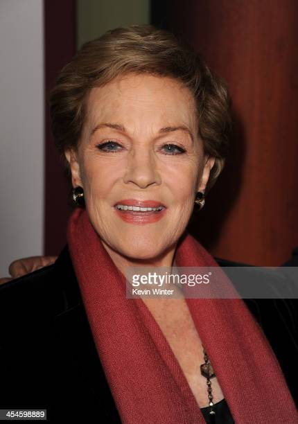 Actress Julie Andrews attends the US premiere of Disney's Saving Mr Banks the untold backstory of how the classic film Mary Poppins made it to the...