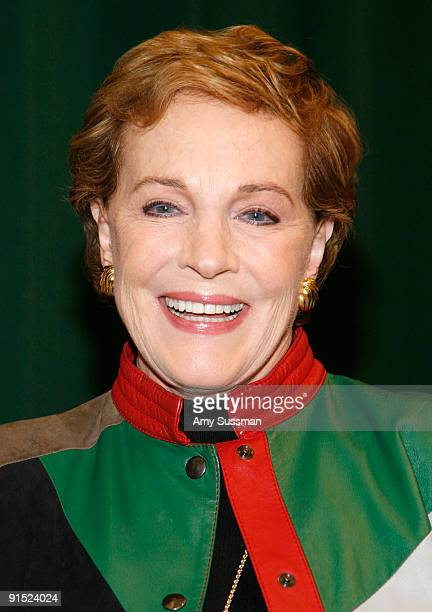 Actress Julie Andrews promotes Julie Andrews' Collection Of Poems Songs and Lullabies at Barnes Noble Tribeca on October 6 2009 in New York City