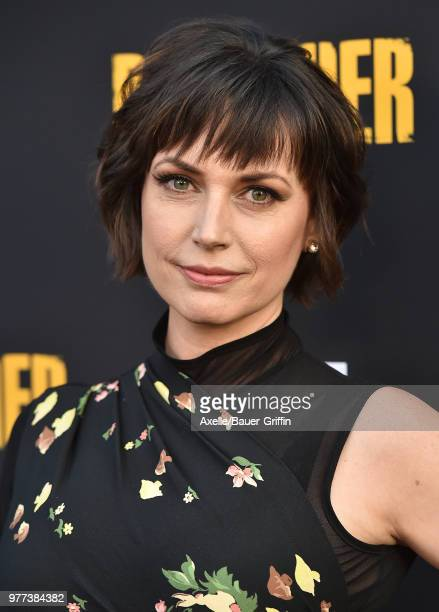 Actress Julie Ann Emery arrives at AMC's 'Preacher' Season 3 Premiere Party at The Hearth and Hound on June 14 2018 in Los Angeles California
