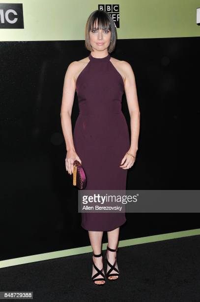 Actress Julie Ann Emery attends AMC Networks 69th Primetime Emmy Awards after party celebration at BOA Steakhouse on September 17 2017 in West...