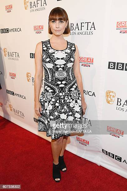 Actress Julie Ann Emery attends the BBC America BAFTA Los Angeles TV Tea Party 2016 at The London Hotel on September 17 2016 in West Hollywood...