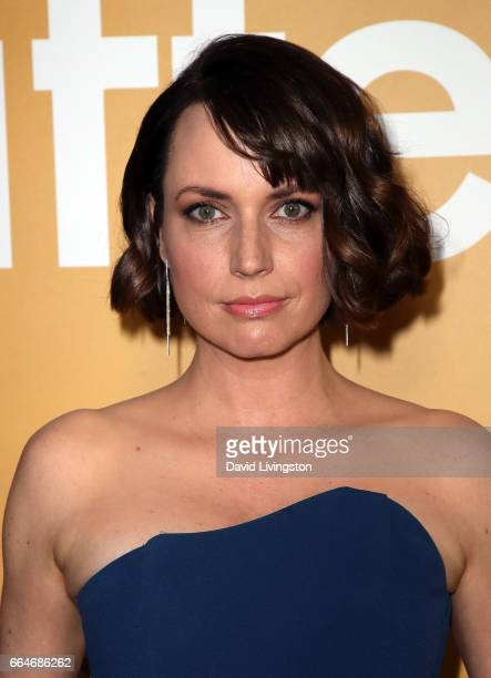 Actress Julie Ann Emery attends the premiere of Fox Searchlight Pictures' 'Gifted' at Pacific Theaters at The Grove on April 4 2017 in Los Angeles...