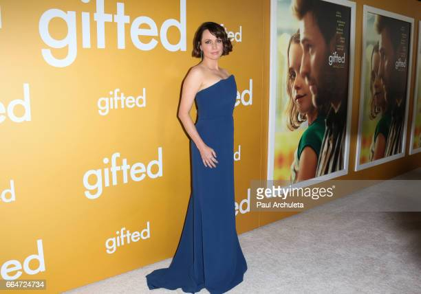 Actress Julie Ann Emery attends the premiere of 'Gifted' at Pacific Theaters at the Grove on April 4 2017 in Los Angeles California