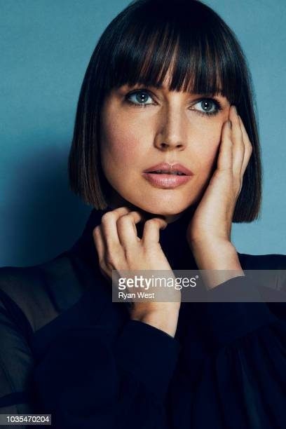 Actress Julie Ann Emery is photographed for Spec on April 24 2017 in Los Angeles California