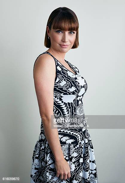 Actress Julie Ann Emery poses for a portrait BBC America BAFTA Los Angeles TV Tea Party 2016 at the The London Hotel on September 17 2016 in West...