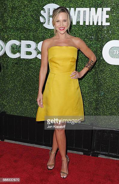 Actress Julie Benz arrives at CBS CW Showtime Summer TCA Party at Pacific Design Center on August 10 2016 in West Hollywood California