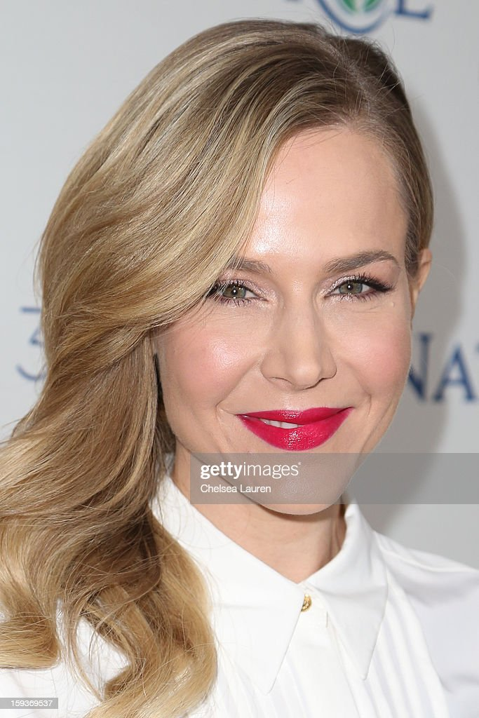 Actress Julie Benz arrives at CW3PR Presents the inaugural 'Gold Meets Golden' event at New Flagship Equinox Sports Club on January 12, 2013 in Los Angeles, California.