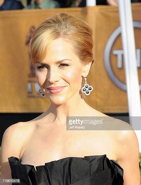 Actress Julie Benz arrives at the 15th Annual Screen Actors Guild Awards held at the Shrine Auditorium on January 25 2009 in Los Angeles California