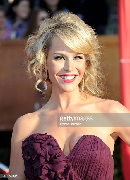 Actress Julie Benz arrives at the 16th Annual Screen Actors Guild Awards held at the Shrine Auditorium on January 23 2010 in Los Angeles California