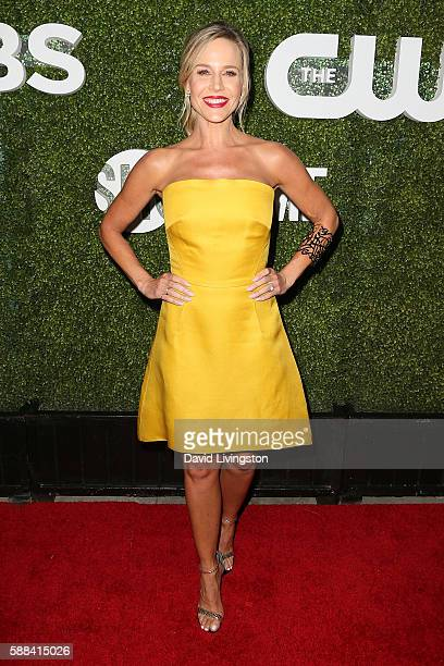 Actress Julie Benz arrives at the CBS CW Showtime Summer TCA Party at the Pacific Design Center on August 10 2016 in West Hollywood California