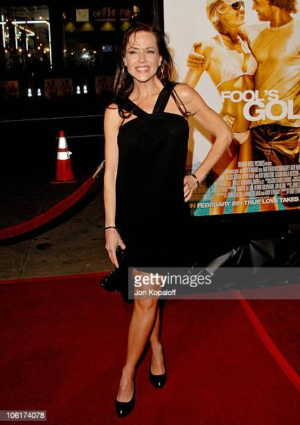 Actress Julie Benz arrives at the Los Angeles Premiere Fool's Gold at the Grauman's Chinese Theater on January 30 2008 in Hollywood California