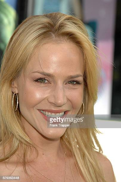 Actress Julie Benz arrives at the world premiere of The Incredible Hulk held at the Gibson Amphitheatre Universal Studios