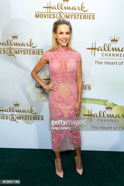 Actress Julie Benz arrives for the 2017 Summer TCA Tour Hallmark Channel And Hallmark Movies And Mysteries on July 27 2017 in Beverly Hills California
