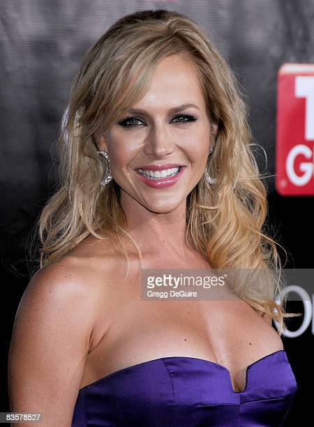 Actress Julie Benz arriving at TV Guide's 6th Annual Emmy Award After Party at The Kress on September 21 2008 in Hollywood California