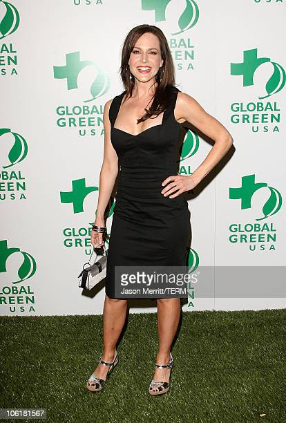 Actress Julie Benz attends Global Green USA's 5th Annual Pre Oscar Party at Avalon Hollywood on February 20 2008 in Los Angeles California
