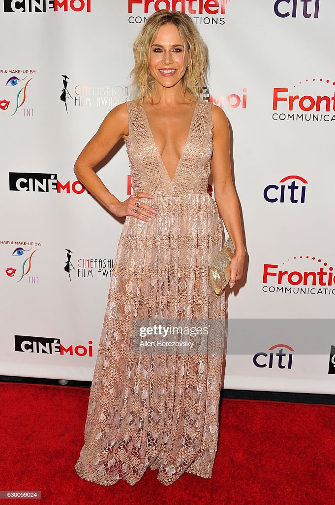 Actress Julie Benz attends the 3rd Annual Cinefashion Film Awards at Saban Theatre on December 15, 2016 in Beverly Hills, California.