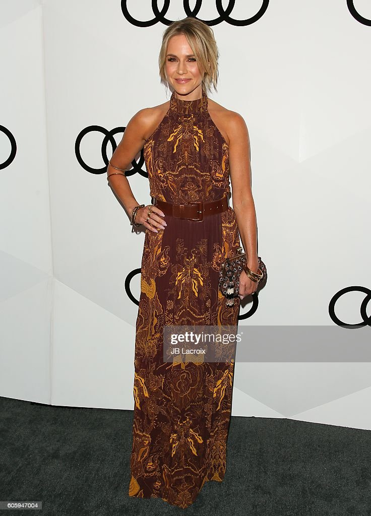 Actress Julie Benz attends the Audi Celebrates The 68th Emmys at Catch LA on September 15, 2016 in West Hollywood, California.