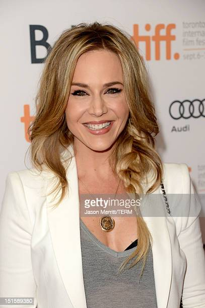 """Actress Julie Benz attends the """"Cloud Atlas"""" premiere during the 2012 Toronto International Film Festival at the Princess of Wales Theatre on..."""