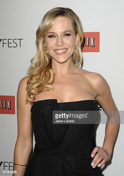 Actress Julie Benz attends the Dexter event at the 27th annual PaleyFest at Saban Theatre on March 4 2010 in Beverly Hills California