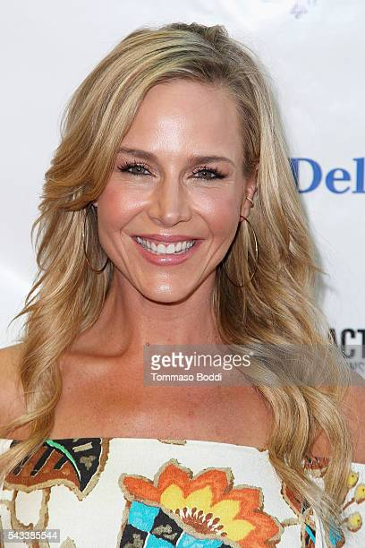 Actress Julie Benz attends The Elizabeth Taylor AIDS Foundation Hosts HIV Testing Event at The Abbey on June 27 2016 in West Hollywood California