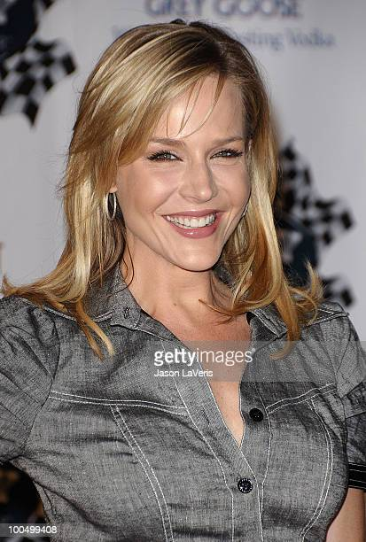 Actress Julie Benz attends the Rally for Kids with Cancer Scavenger Cup press conference at Petersen Automotive Museum on May 24 2010 in Los Angeles...