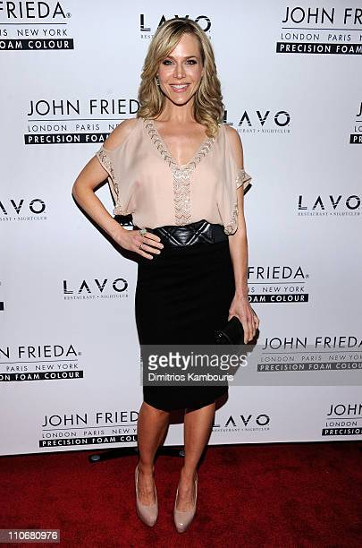 Actress Julie Benz attends the unvieling of The Decision a short film in support of the new Precision Foam Colour hosted by John Frieda and Katie...
