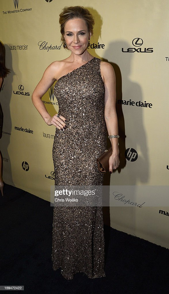 Actress Julie Benz attends The Weinstein Company's 2013 Golden Globe Awards after party presented by Chopard, HP, Laura Mercier, Lexus, Marie Claire, and Yucaipa Films held at The Old Trader Vic's at The Beverly Hilton Hotel on January 13, 2013 in Beverly Hills, California.
