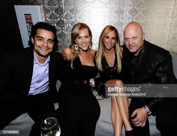 Actress Julie Benz Michelle Moran and Michael Chiklis attend the 2010 American Music Awards after party on November 21 2010 in Los Angeles California