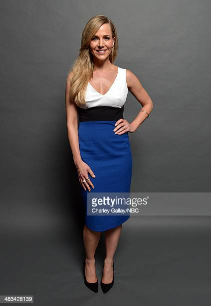 Actress Julie Benz poses for a portrait during the 2014 NBCUniversal Summer Press Day at The Langham Huntington on April 8, 2014 in Pasadena,...