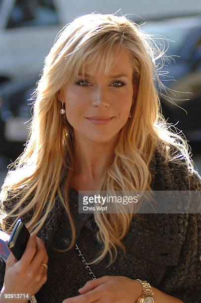 Actress Julie Benz sighting on December 4 2009 in West Hollywood California