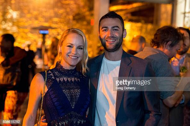 Actress Julie Berman and Producer Zander Lehmann attend the Premiere Of Hulu's Casual Season 2 After Party on June 6 2016 in Hollywood California