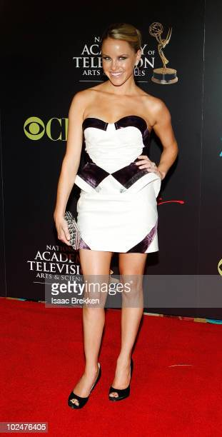 Actress Julie Berman arrives at the 37th Annual Daytime Entertainment Emmy Awards held at the Las Vegas Hilton on June 27 2010 in Las Vegas Nevada