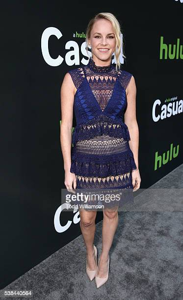 Actress Julie Berman attends the 'Casual' Season 2 premiere and FYC event at ArcLight Hollywood on June 6 2016 in Los Angeles California
