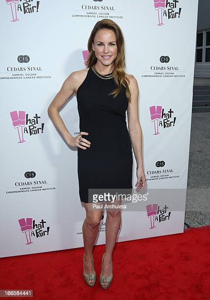 Actress Julie Berman attends the What A Pair benefit concert at The Broad Stage on April 13 2013 in Santa Monica California