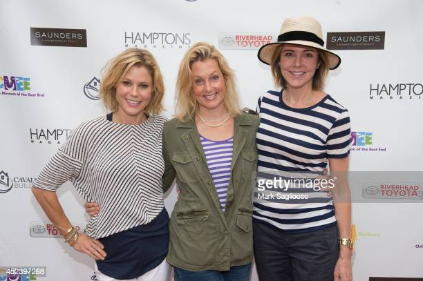 Actress Julie Bowen Ali Wentworth Christa Miller attend the 6th Annual Family Affair hosted by CMEE at Children's Museum of the East End on July 19...