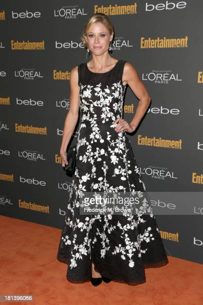 Actress Julie Bowen arrives at Entertainment Weekly's Pre-Emmy Party at Fig & Olive Melrose Place on September 20, 2013 in West Hollywood, California.