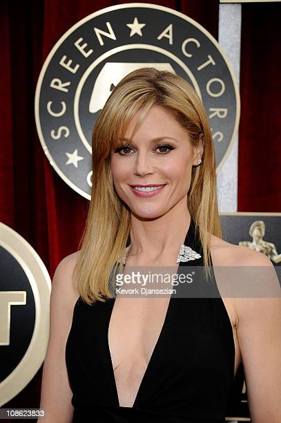 Actress Julie Bowen arrives at the 17th Annual Screen Actors Guild Awards held at The Shrine Auditorium on January 30 2011 in Los Angeles California